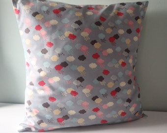 Rain Cloud Weather Pillow cover