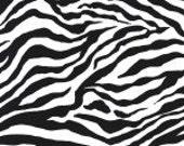 SALE Michael Miller Zebra Stripe 1 yard cut