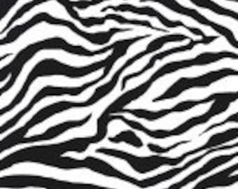 SALE Michael Miller Zebra Stripe 1 yard cut