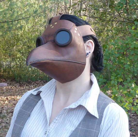 The Paracelsus Plague Doctor Mask, made to order!