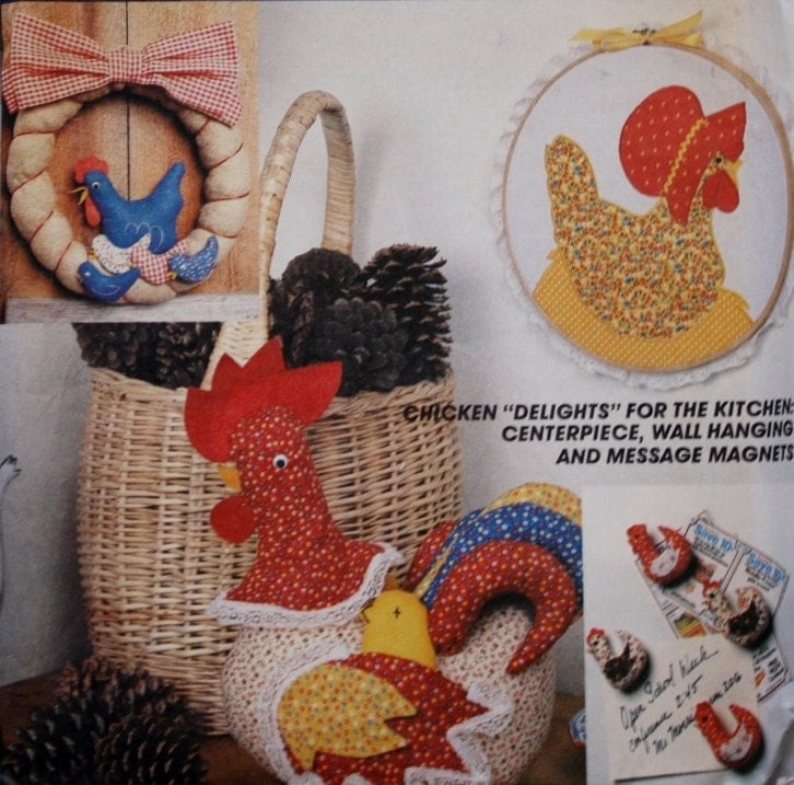 1980s chicken kitchen decorations vintage by for 1980s decoration ideas