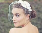 Custom listing Karen - Tabitha - Beaded Lace Flower Birdcage