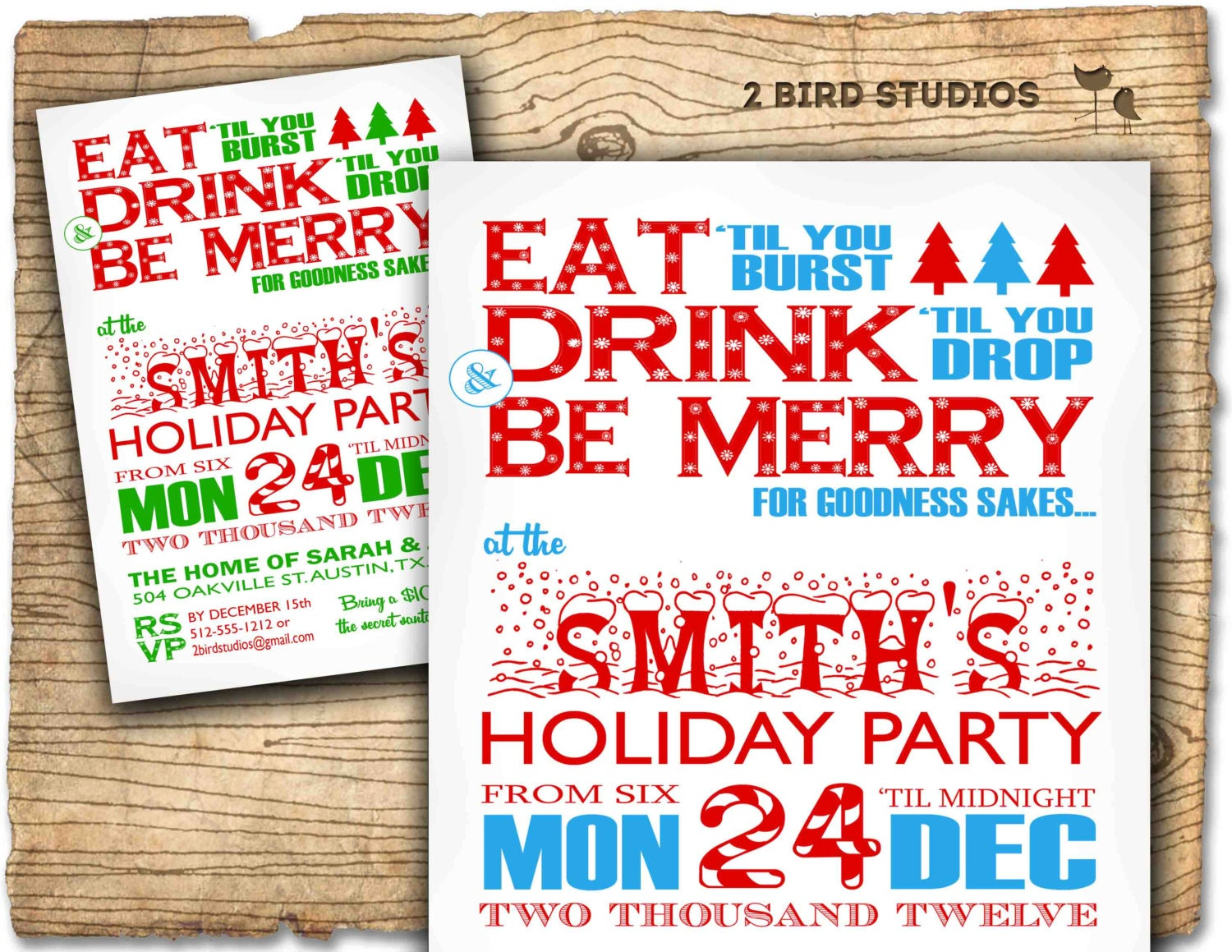 Christmas party invitation Holiday party invitation Adult – Invitations to Christmas Party