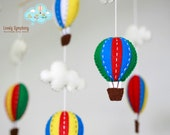 primary color  baby mobile - Bold colors baby mobile - Red green blue yellow baby mobile