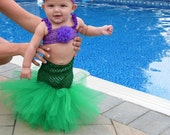 little mermaid tutu Halloween Costume