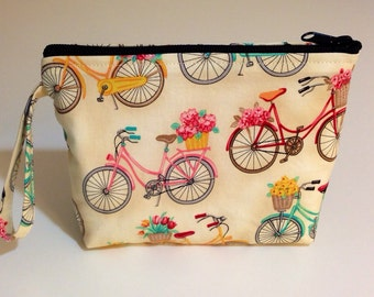 Bicycle Make Up Bag - Accessory - Cosmetic Bag