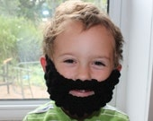 Crocheted Beards Photography prop costume in all sizes Halloween costume prop