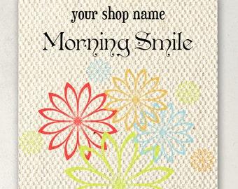 ETSY BANNERS  Morning Smile Shop Banner Set