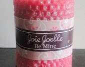Items similar to Be Mine Attraction Pink Spell Pillar ...
