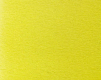 """Solid Velboa Faux Fur Fabric - Yellow - Sold By The Yard  - 58""""/60"""" Width"""