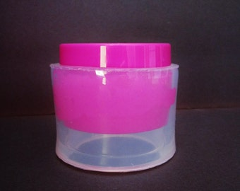 Clear Flexible-Rubber Silicone Mold for wide bangle bracelet (MB078)