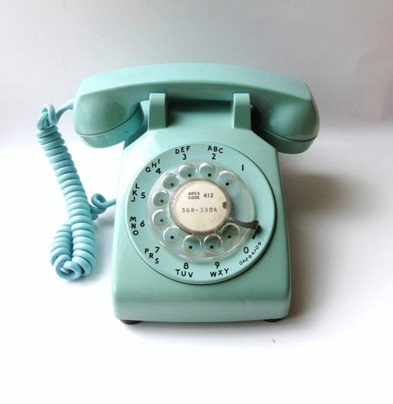 reserved for jennifer vintage telephone robin 39 s egg blue. Black Bedroom Furniture Sets. Home Design Ideas