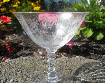 Sale Reduced Fostoria Crystal Champagne Glass