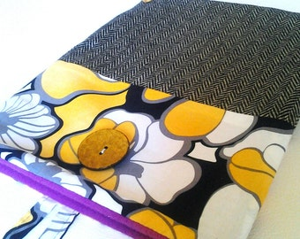 Handmade Ipad case. Ipad sleeve. Ipad cover. Ipad Accessories. Laptop bags