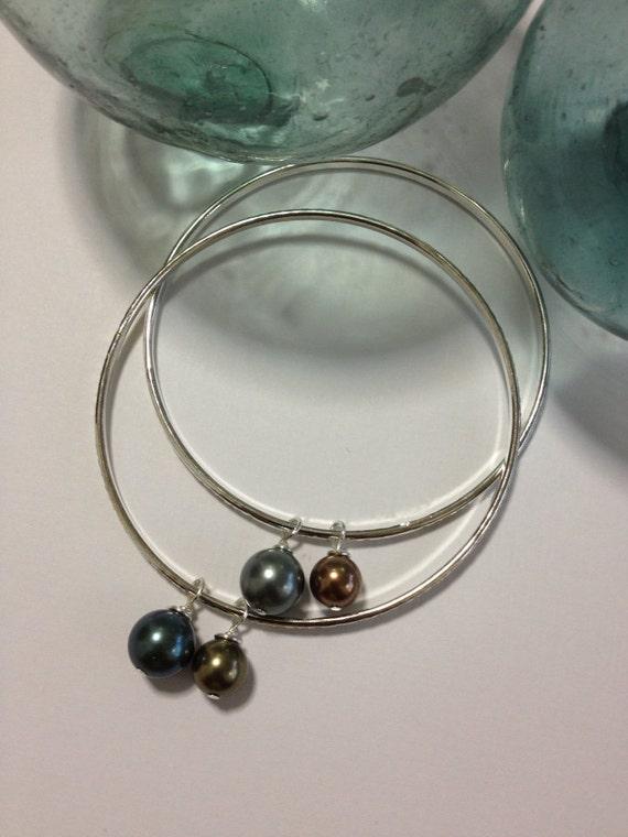 SALE Pearl Bangles (2)