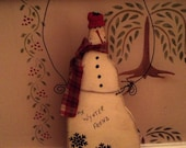 Primitive Snowman Wynter Friend