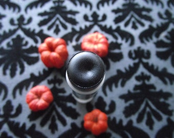 Purdy Lips in Malevolent - Black Lip Gloss Stick Buildable Color Gothic