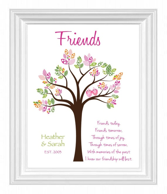 Best Gift For Friend S Wedding: Items Similar To FRIENDS Gift Wall Art