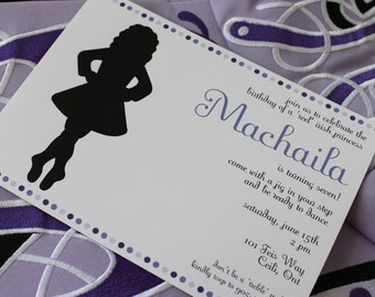 Irish Dancer Printable Party Invitations : THE PAPER DOLL