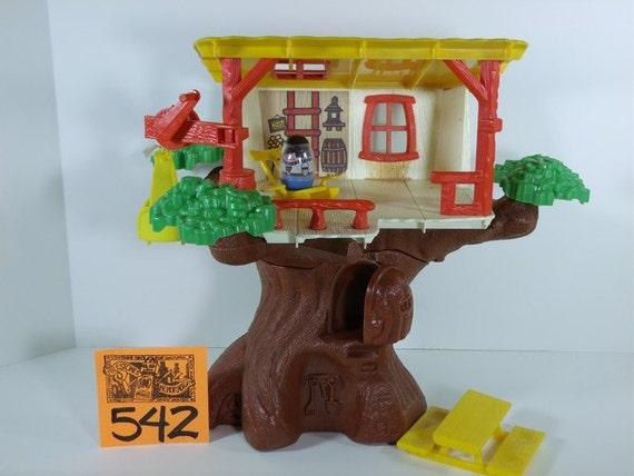 vintage weebles tree house eBay