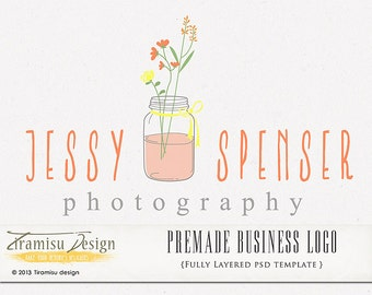 Photography  Premade Logo or Watermark - Jessy