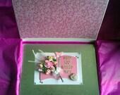Boxed Personalised Female 100th Birthday Card - Gran, Nan, Nanna, Mum