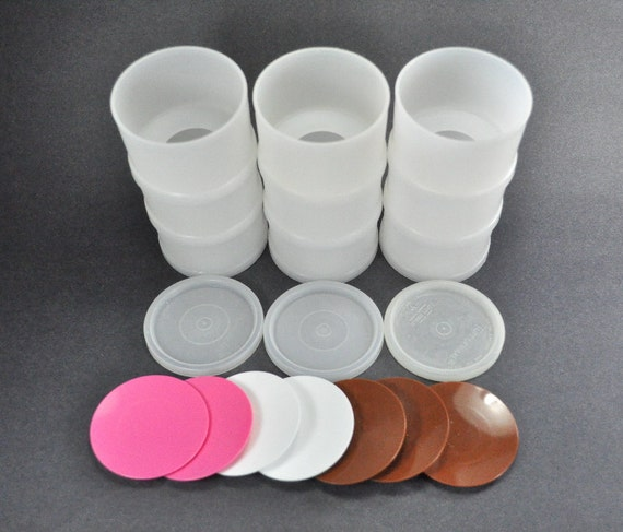 Vintage Tupperware Ice Cream Sandwich Maker Containers Set
