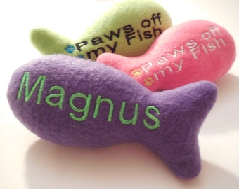 Personalized Cat Toy with Catnip (1)