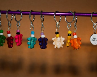 Bees?  Arrested Development Bee Bead Stitch Markers (Set of 7)