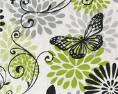 Reserved Listing//Sale!!!! Glamour Girl Butterfly Floral Fabric!! Ready to Ship