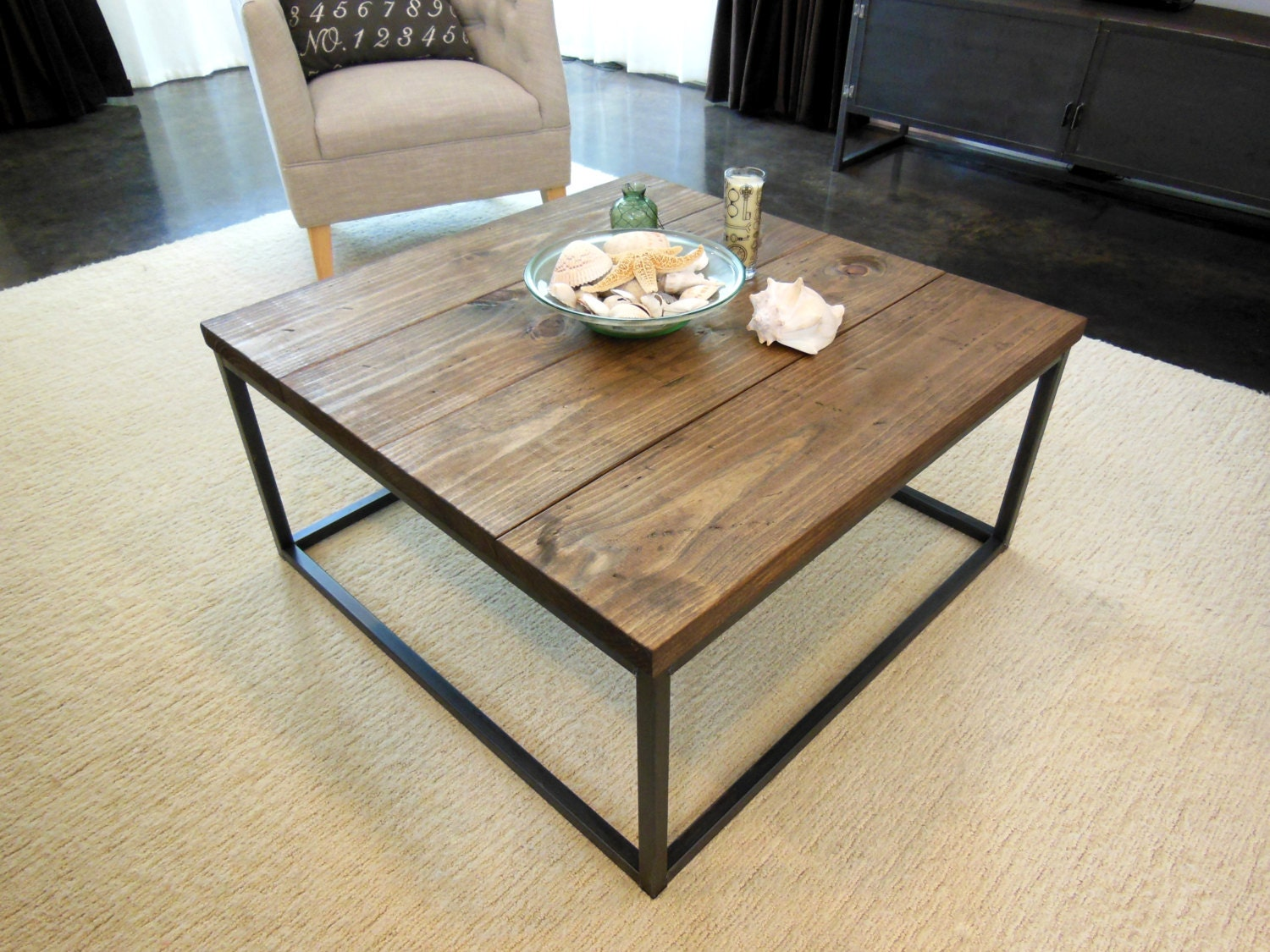Cube Coffee Table By Aticofurniture On Etsy