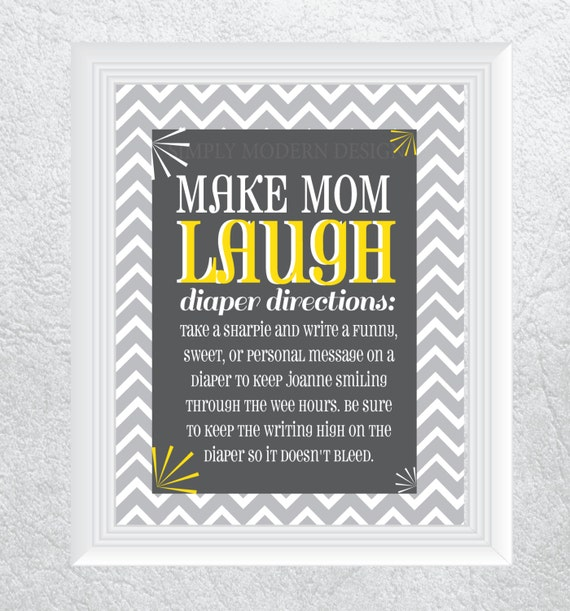 chevron baby shower game printable by simplymoderndesignx on etsy