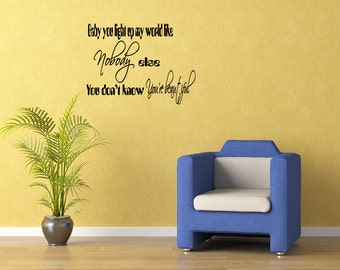 one direction wall decal etsy. Black Bedroom Furniture Sets. Home Design Ideas