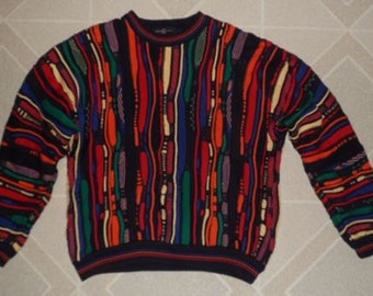Vintage 1980s Wear into a bar and get Thumped Sweater