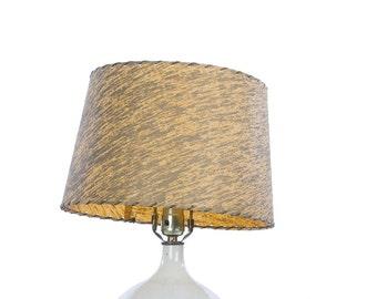 Retro Lamp Shade Faux Bark Cloth