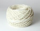 White Hemp Yarn - Fine Romanian Hemp Twine - 12-strand White