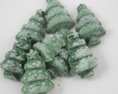 Christmas Tree Candle Tarts, Highly Scented in Pine