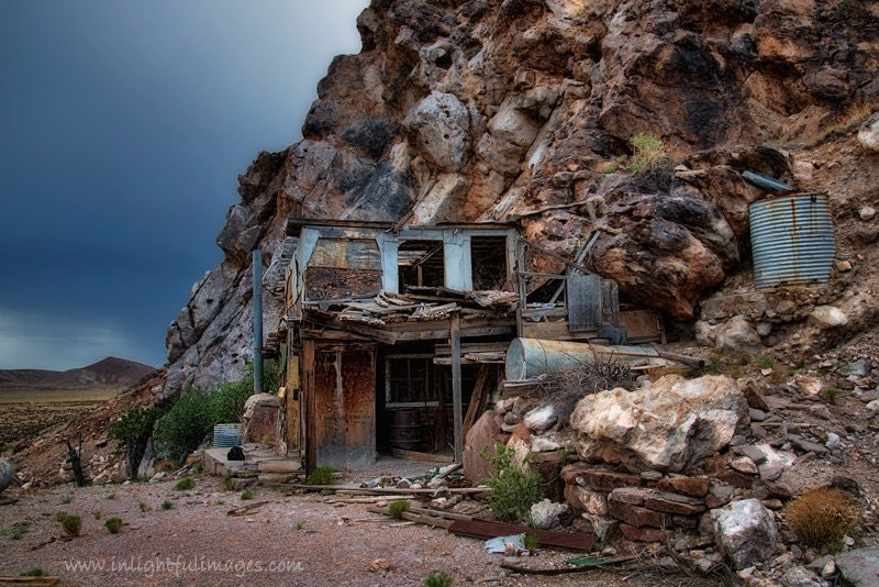 Items similar to abandoned house built into mountain wall House built into mountain