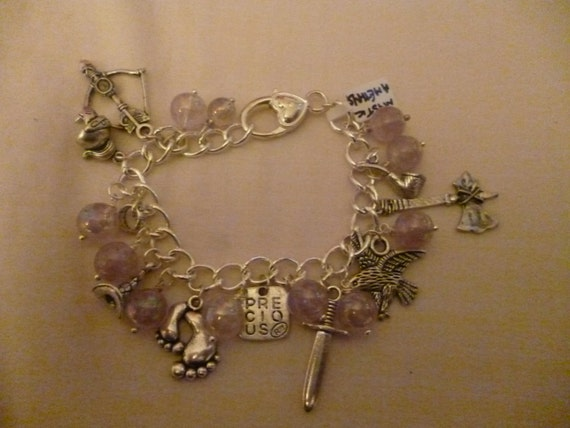hobbit lord of the rings charm bracelet mystic by superlev
