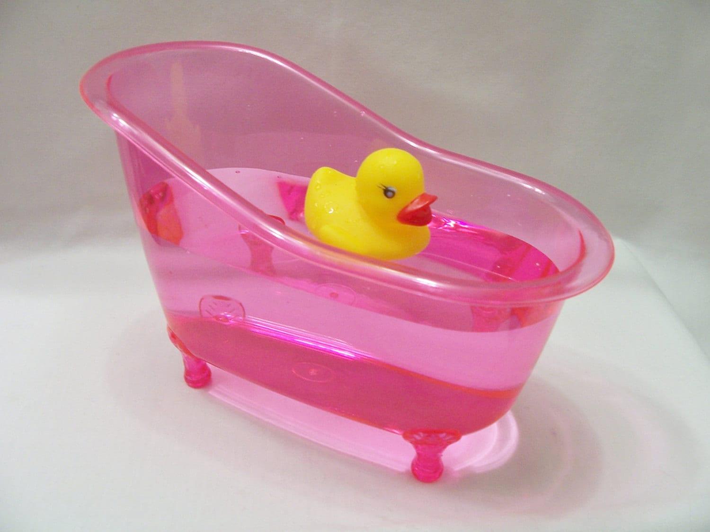pink bathtub table centerpiece favour party table decor. Black Bedroom Furniture Sets. Home Design Ideas