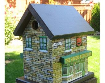 Coronation Street Rovers Return Inn Birdhouse