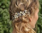 Wedding Hair Accessories, Swarovski Crystal Bridal Hair piece, wedding accessory