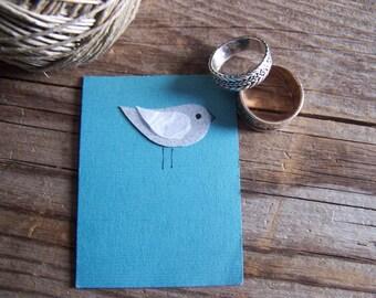 NEW! Mini Bird Notecard