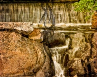 Hunt's Mill Falls 2-An 8 x 12 Fine Art Color Photograph