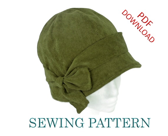 SEWING PATTERN - Penny, 1920s Cloche Hat for Child or Adult