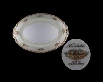 Vintage Noritake Mystery Oval Platter - Occupied Japan