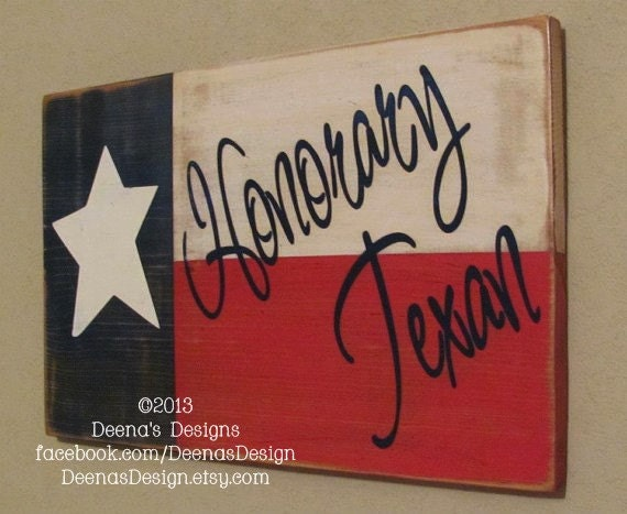 Texas State Flag Wall Hanging, Texas Flag Wood, Texas Flag Sign, Custom Wood Signage - Texas Flag With Customized Writing