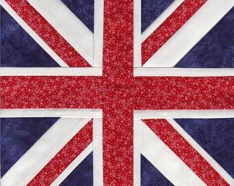 Union Jack - Paper Piecing