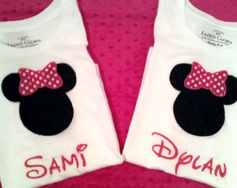 Mickey Mouse and/or Minnie Mouse Tee