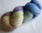 Hand Painted Yarn, Yarn Hand Painted Yarn  540 yards, Sock yarn